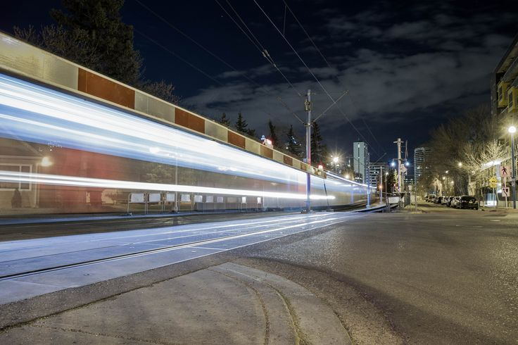 Come on, who DOESN'T love light trails.   I snapped this at Sunnyside station, it was the last train of the night.