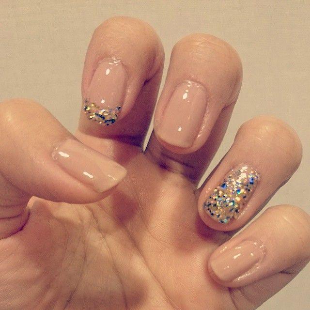 Naildeborah lippmann✨ NAKED&GLITTER AND BE GAY #nail#manicure#deborahlippmann#crueltyfree#ネイル#デボラリップマン#動物実験していない#動物実験してない