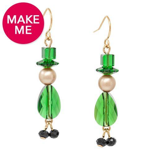 Lucky Leprechaun Earrings | Fusion Beads Inspiration Gallery