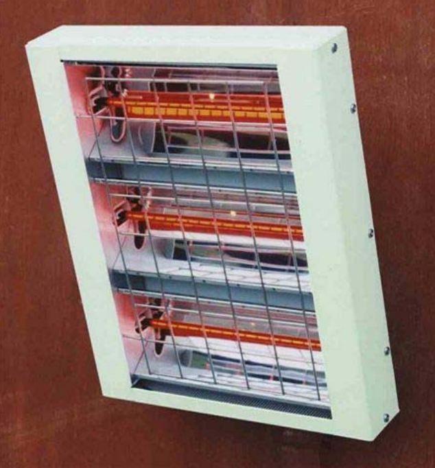 Halogén infrasugárzó G-OLD HN45 infrafűtés és infrapanel