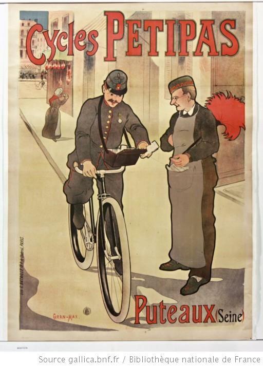 Cycles Petipas. Puteaux (Seine) : [affiche] / [Giran-Max]