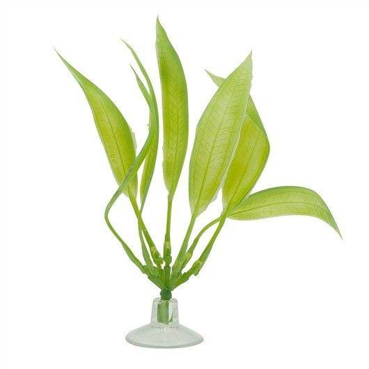 Plantas Plasticas con Ventosa Amazonas  MARINA 12,5 cm  - #FaunAnimal Plantas Plasticas con Ventosa son plantas de aspecto natural que ondulan en la corriente de agua al igual que las plantas vivas.