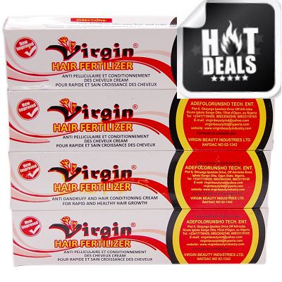 Virgin Hair Fertilizer Anti Dandruff and Hair Conditioning Cream 125g - Pack of 4 $17.95 Visit www.BarberSalon.com One stop shopping for Professional Barber Supplies, Salon Supplies, Hair & Wigs, Professional Product. GUARANTEE LOW PRICES!!! #barbersupply #barbersupplies #salonsupply #salonsupplies #beautysupply #beautysupplies #barber #salon #hair #wig #deals #sales #Virgin #Hair #Fertilizer #Anti #Dandruff #and #Hair #Conditioning #Cream