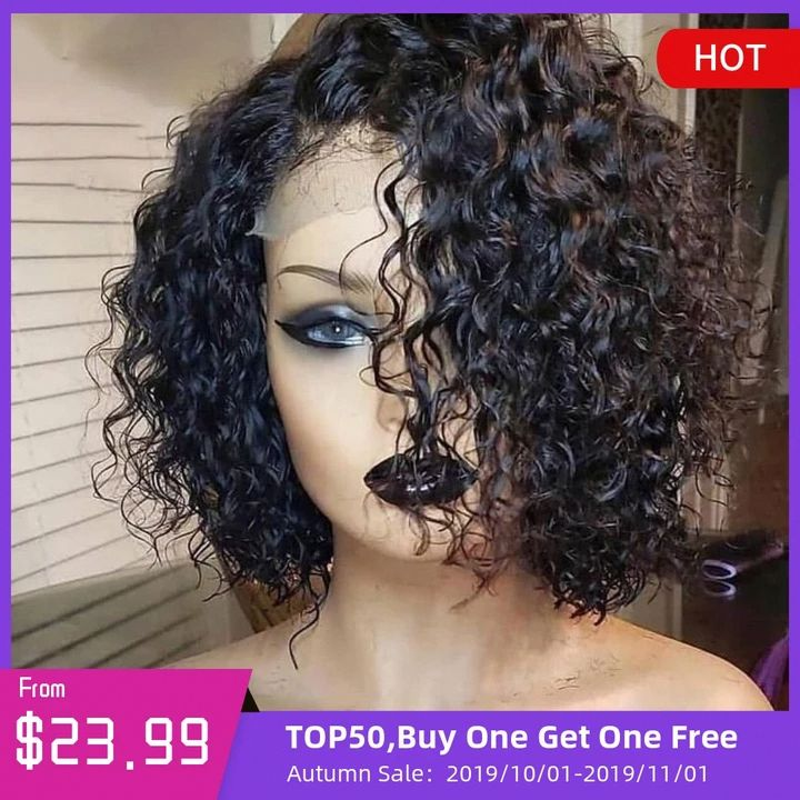 18+ Neck length short curly hairstyles black hair trends