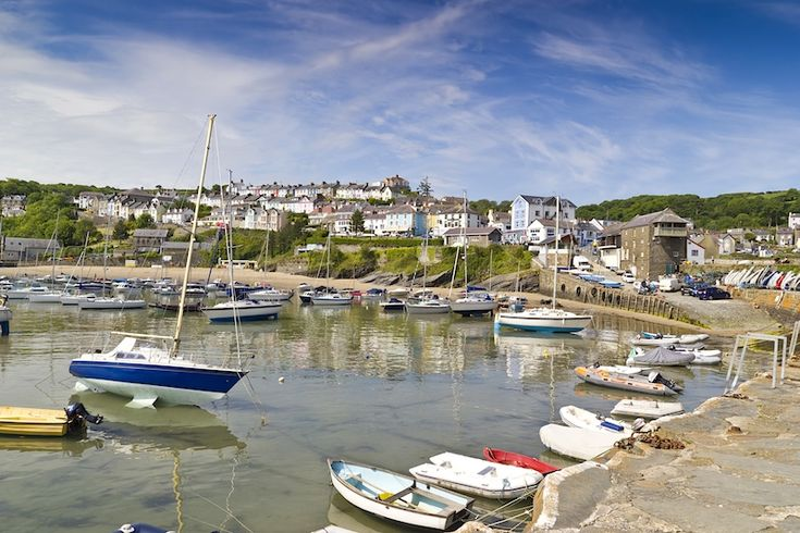 New Quay, Wales... would love to have been able to spend more time there!