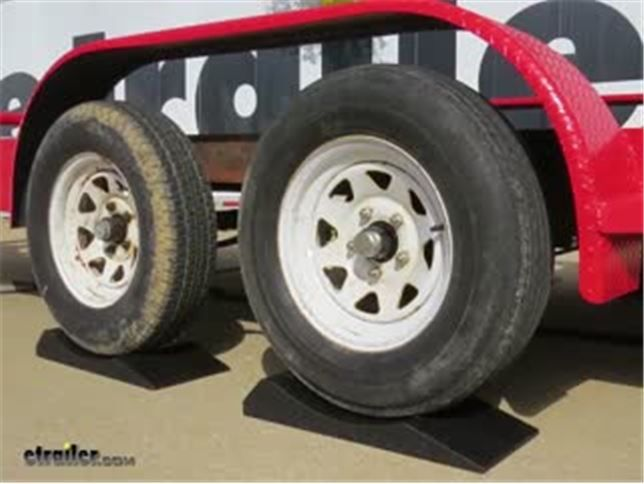 """Race Ramps FlatStoppers Storage Set for Tires up to 8"""" Wide - 6,000 lbs Race Ramps Vehicle Ramps RR-FS-10"""
