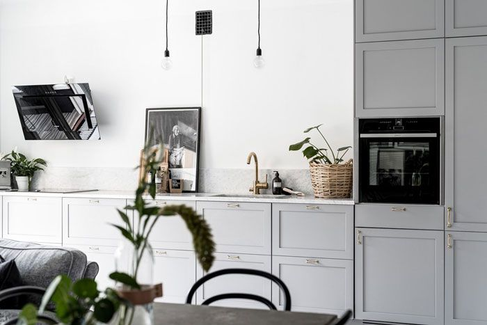Inspiring and Stylish Monochrome Apartment - NordicDesign