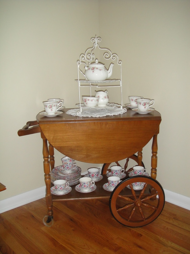 tea cart - Bing Images
