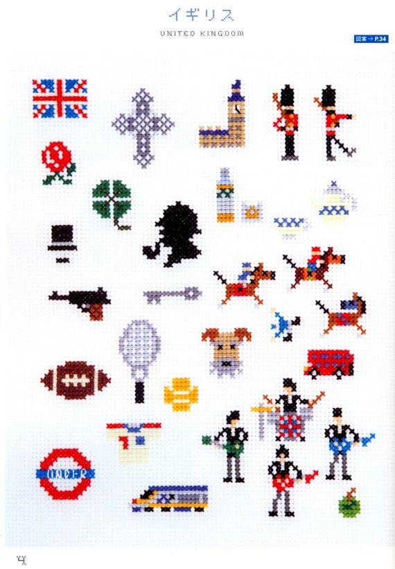 UK cross stitch