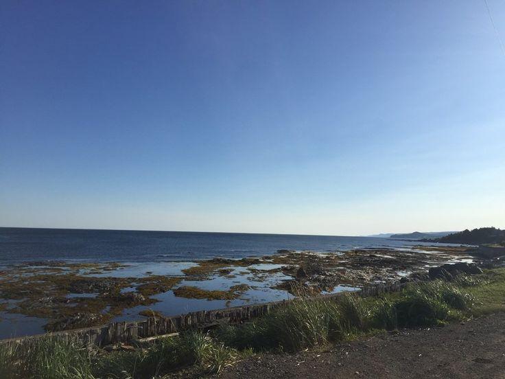 Chalet de bord de mer à Sainte-Félicité, Gaspésie #chalet #gaspesie