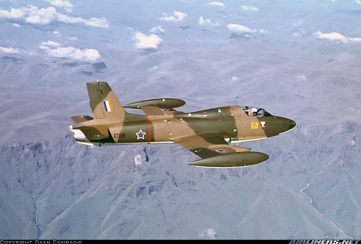 South African Air Force Aermacchi MB 326K Atlas Impala Mk2