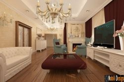 Design interior vila stil clasic in Bucuresti
