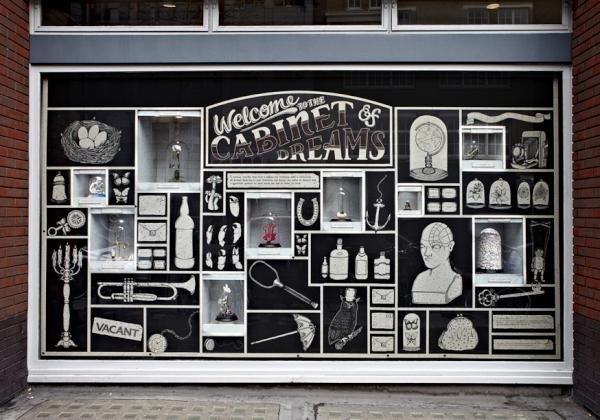 Grey London has transformed a street level window in London's Soho into a virtual Valentine's gift shop to raise money for charitable organization Women's Aid...