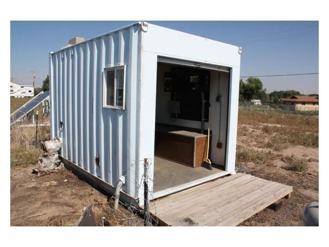 Tiny Off Grid Steel Mini Cabin