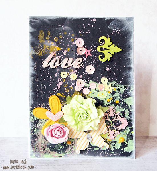 Tusia Lech - a card