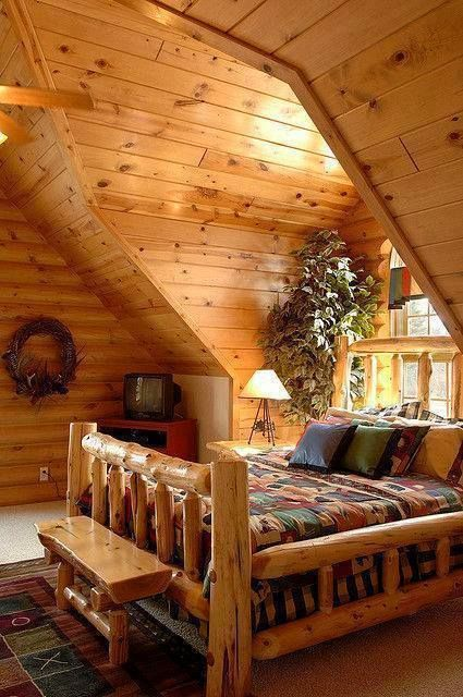 Imagen de cabin, forest, and landscape