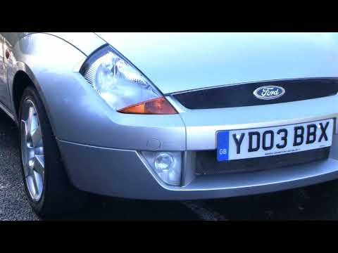 03 03 Ford Streetka Luxury 1.6 Convertible Leather, Air Con Barrie Crampton's You Tube Channel http://www.youtube.com/user/barriecrampton?feature=mhee