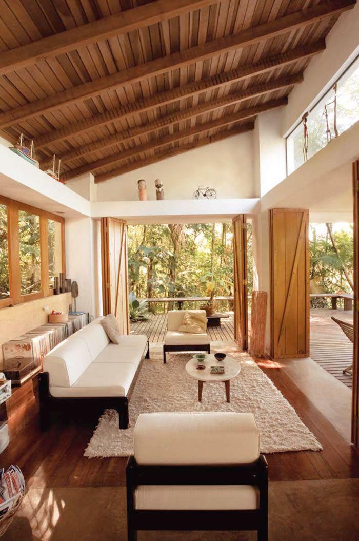Qualquer cômodo da casa pode ficar super charmoso e aconchegante quando utilizamos essas opções de acabamento. Pode ser uma s...