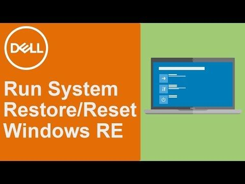 Learn how to run a #Windows10 System Restore in the Windows Recovery