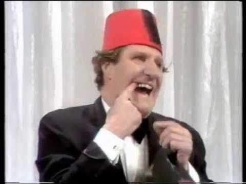 Tommy Cooper...its not about the magic yet the magic works, but oh the delivery! we miss you Tommy.