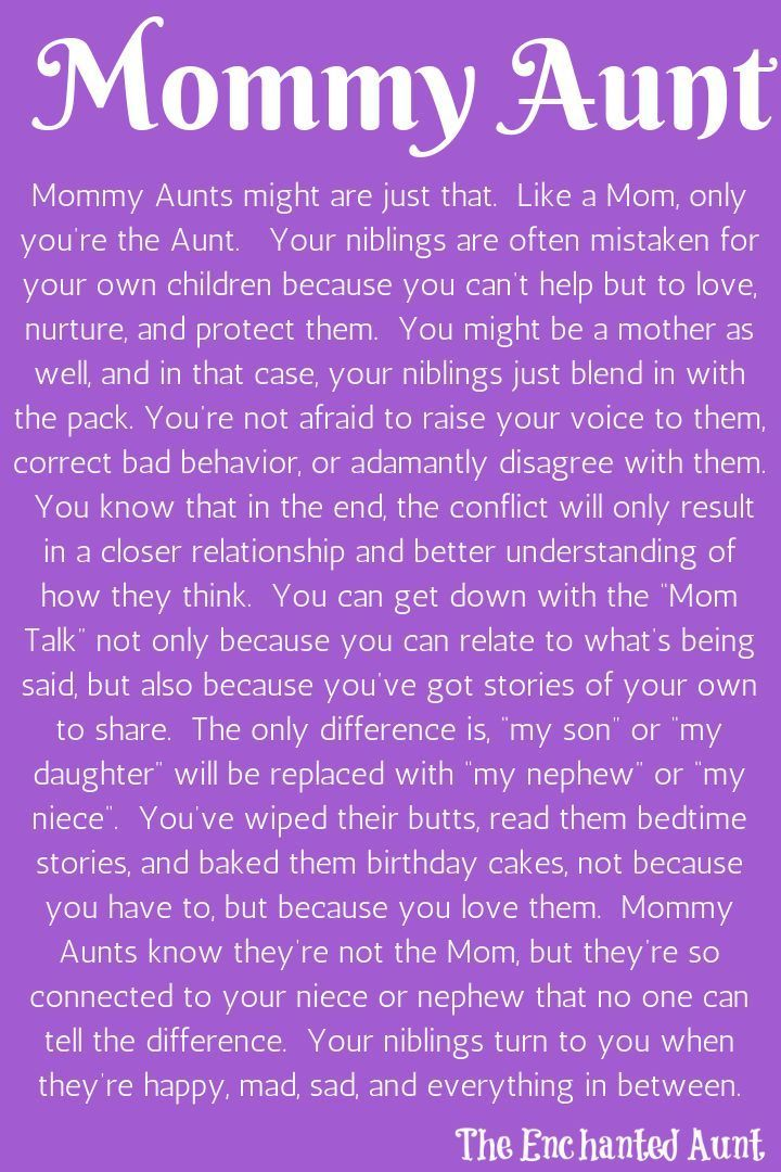 Read About The 4 Different Types Of Aunts Aunt Quotes Niece Quotes Auntie Quotes Niece