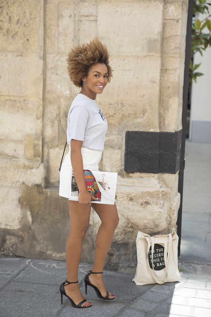 We invited Anissa to choose in the woman summer 2013 collection and make her own looks.