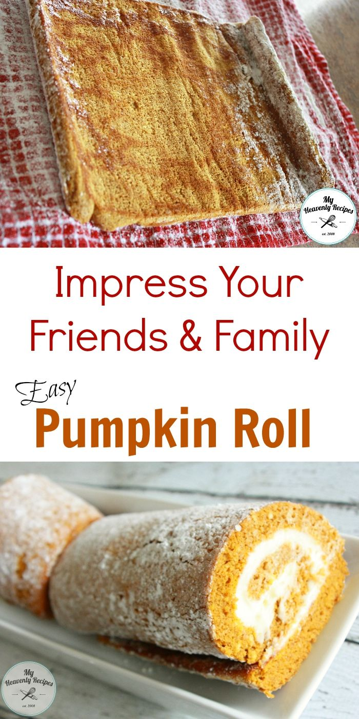 A Pumpkin Roll Recipe that's so easy you'll be impressing your friends over & over again. You may even start a small business with the Pumpkin Roll recipe!