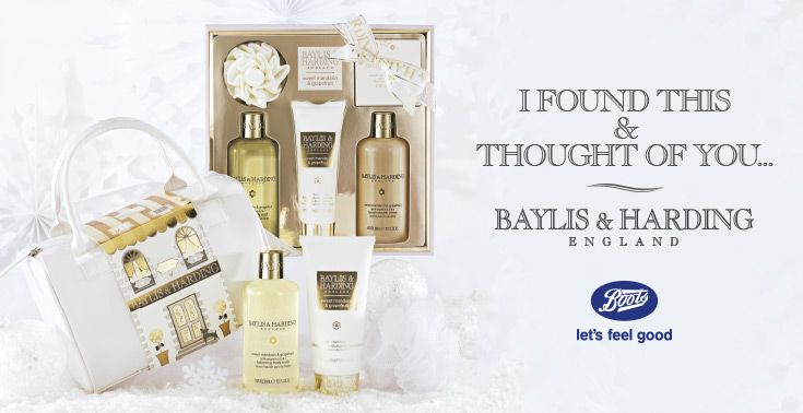 Our best-selling Sweet Mandarin and Grapefruit fragrance collection has been a family favourite for many years and we're sure your family will love it too! You can find it at Boots:  http://www.baylisandharding.com/boots