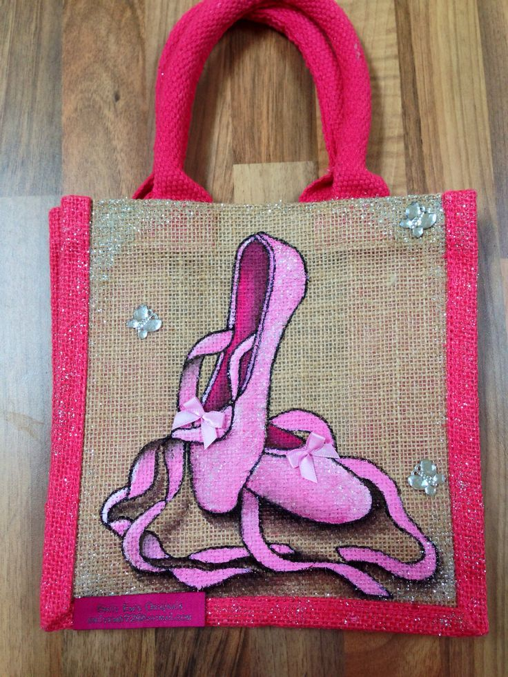 By Emily-em Original Bag Designs. Life is but an elegant Dance, pointe and pirouette. Dance like no one is watching !!