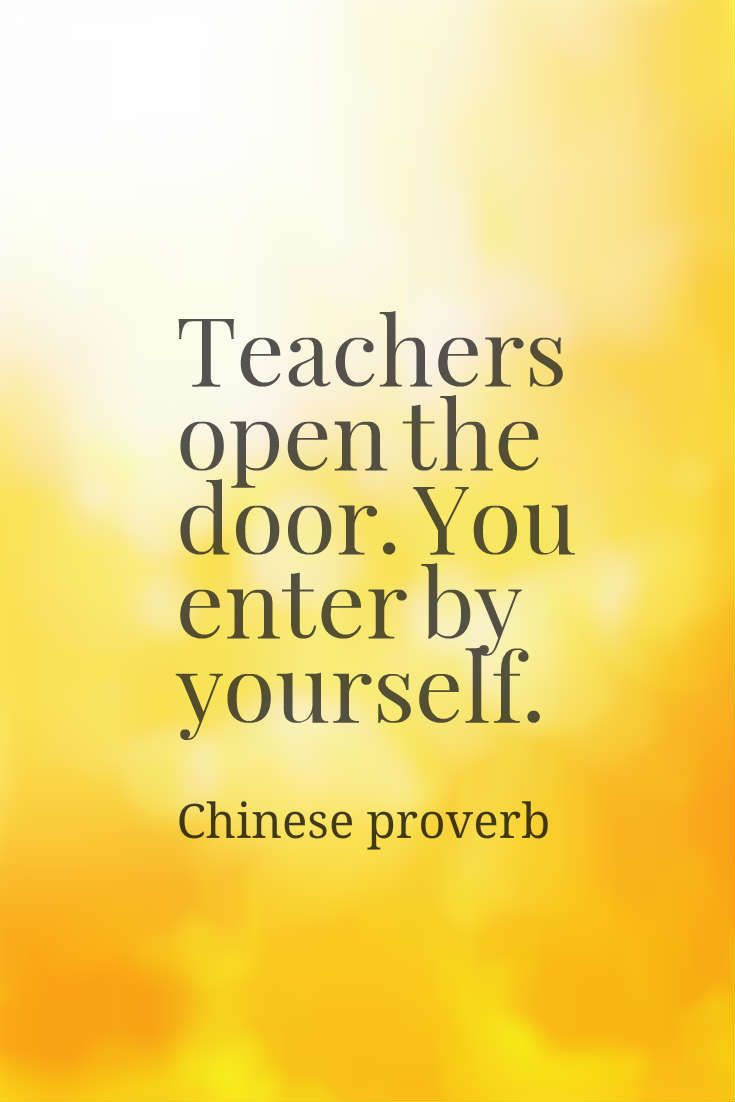 Chinese Proverb About Teaching And Learning Inspiring Chinese