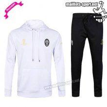 Ensemble De Survetement Homme Foot Juventus hoodie Blanc 2016 2017 Nouveau | maillots-sport