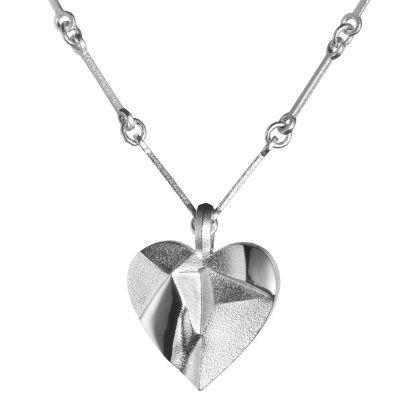 Lapponia Jewelry / My Foolish Heart Necklace / Design: Björn Weckström