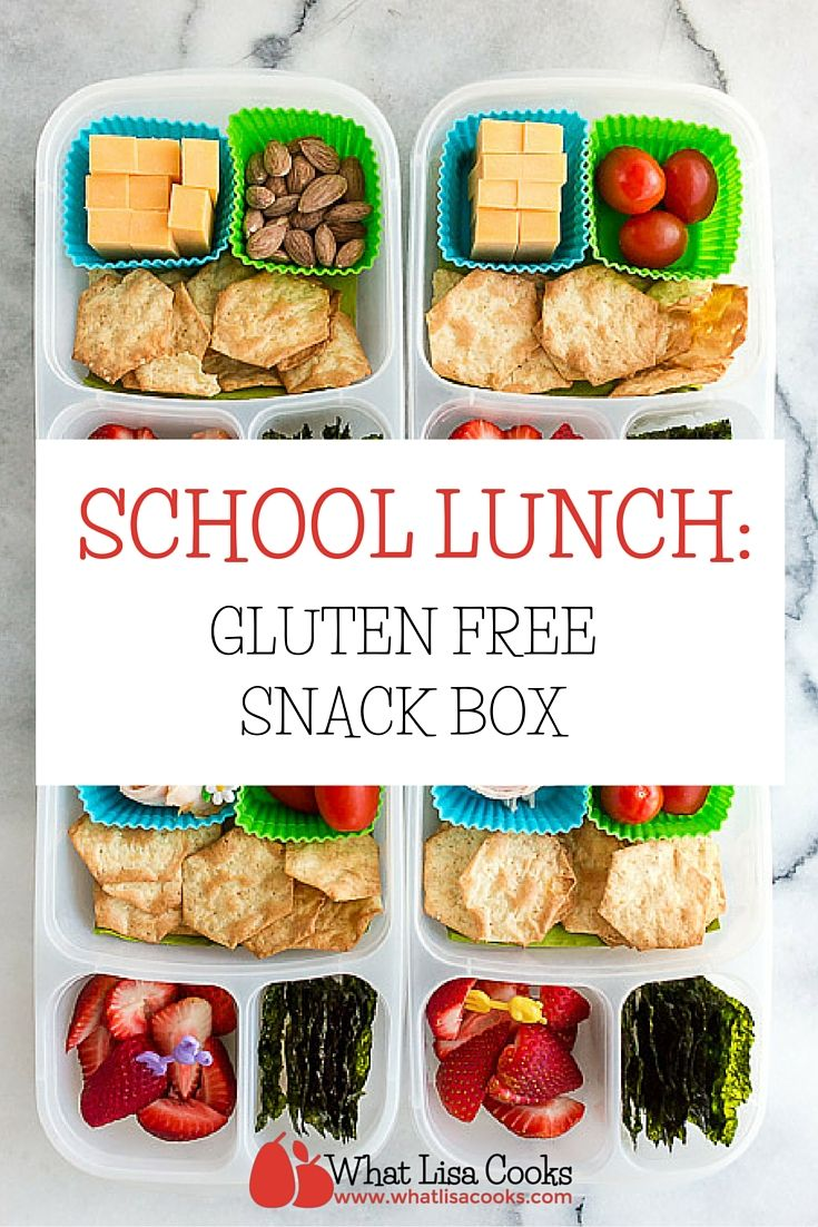 easy gluten free packed school lunch from whatlisacooks.com