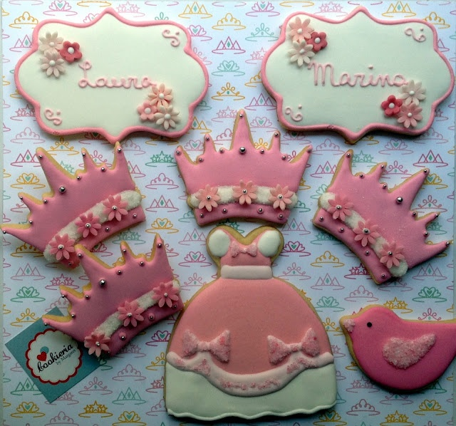 Cookieria By Margaret Princess cookies Cinderella