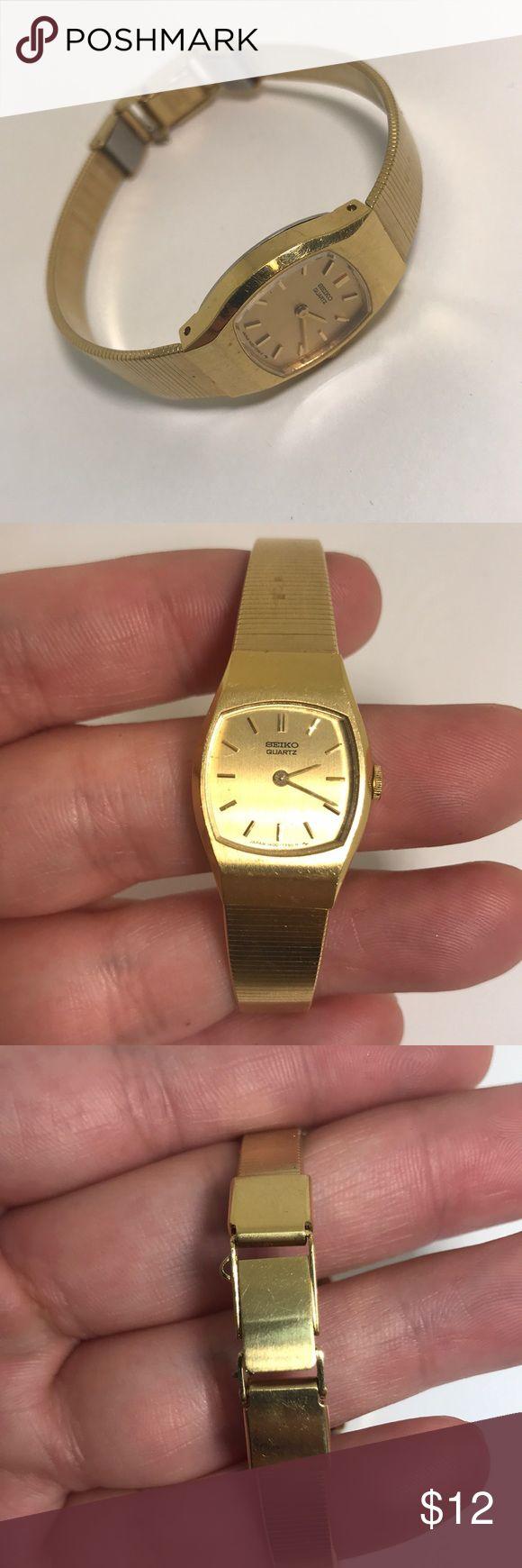 Seiko gold tone watch Seiko gold tone watch small Accessories Watches