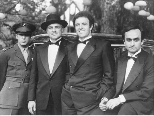 #father and #Sons The Corleone Family // #TheGodfather