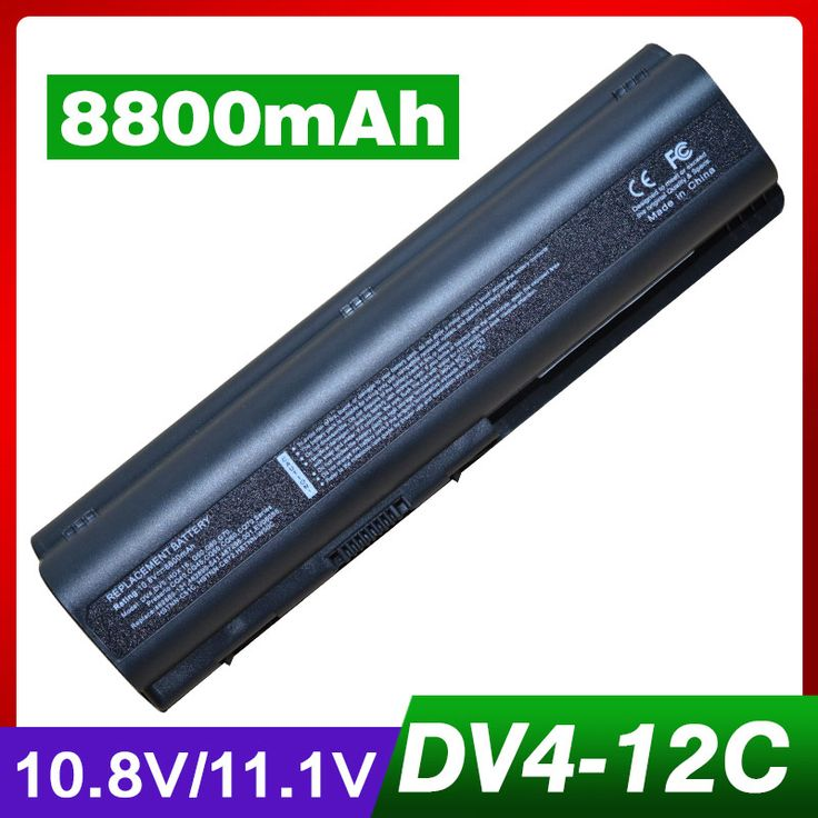 8800mAh laptop battery for HP Pavilion dv4-1000 dv4-2000 dv5 dv5-1000 dv5-2000 dv6-1000 dv6-1200 dv6-1300 dv6-1400 dv6-2000