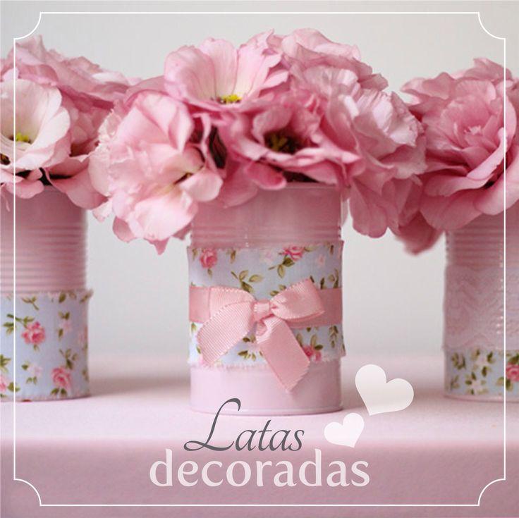 DIY: latas de tomate decoradas                                                                                                                                                                                 Más