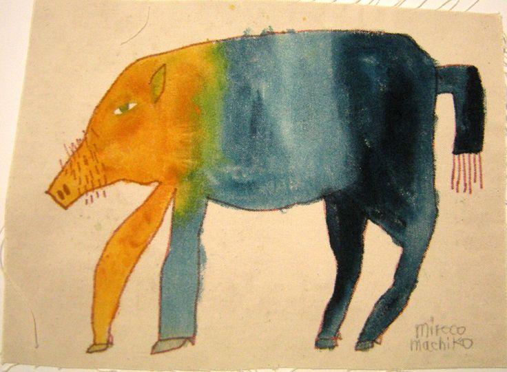 Freaky Fauna's Tumblr - Wild Boar. Found at Miroco Machiko. Also see...