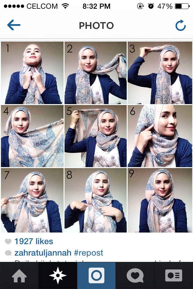 Hijab chill. P/s: u have to wear inner neck