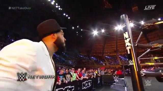 """Andrade """"Cien"""" Almas goes head-to-head against Roderick Strong at WWE NXT TakeOver: San Antonio on WWE Network."""