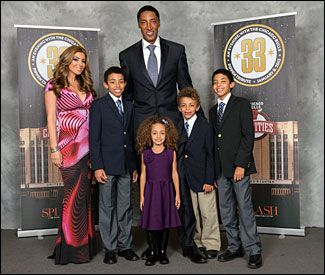 """""""An Evening with the Chicago Bulls"""" held at the United Center to honor Scottie and Larsa Pippen and raise funds for Chicago Bulls Charities on January 8, 2013."""