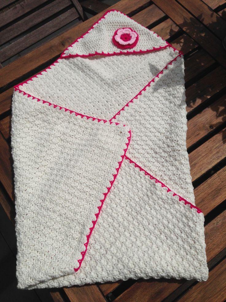 Cadeautje voor @anikawilderink #haken #crochet #babyblanket