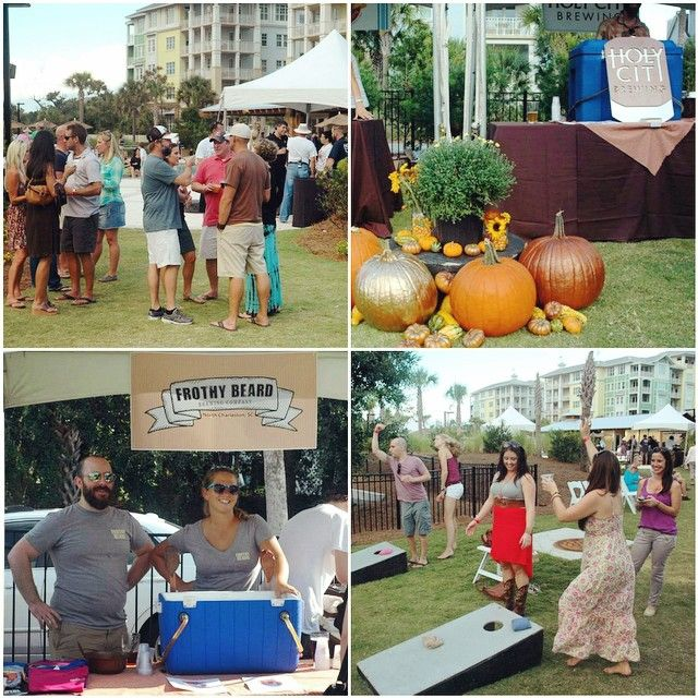 #tbt to last year's #islandbrewfest! We can't wait to welcome everyone next Saturday (Nov. 1) for our 2nd annual #Charleston Brews & Chews Craft Beer Festival featuring 9 of your favorite local & regional breweries! Tomorrow is the FINAL DAY for advance ticket pricing - $10 off! That includes unlimited brews and chews at the event  Buy your tickets online on the event page or call 843.886.2218 today! https://www.facebook.com/events/1533531936863514/