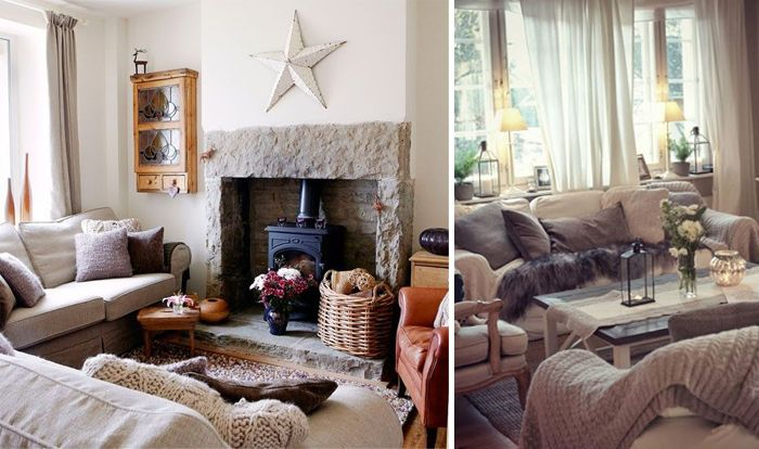 Although We Re Not Ready To Put Our Christmas Trees Up Quite Just Yet The Leaves Are Turning The B Cosy Living Room Design Cosy Living Room Living Room Colors