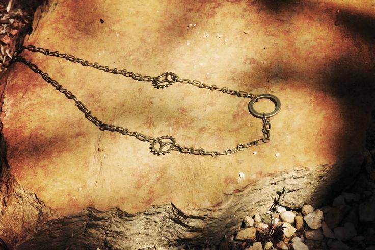 Brass necklace...$22Aus