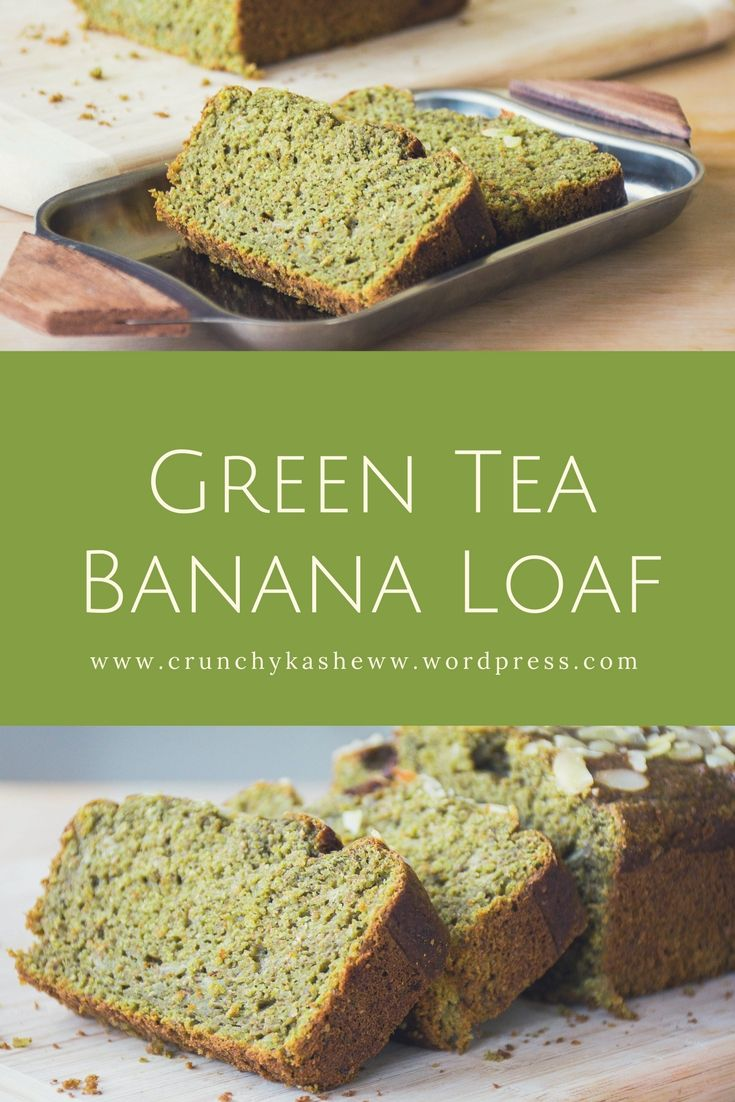 Something for green tea lovers - soft, moist, not too sweet green tea loaf #baking #recipes #greentearecipes #bakingwithgreentea