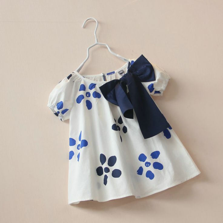 Find More Blouses Shirts Information About CS4052 Girls Cotton White Flower Print Summer Short Sleeve