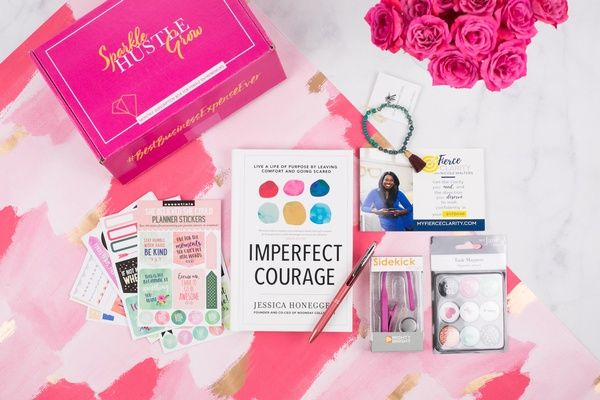 Sparkle Hustle Grow Girl Boss Gift Gifts For Boss Last Minute Gifts