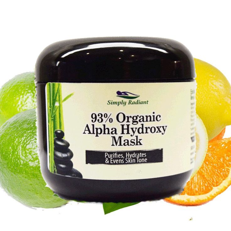 Organic Alpha Hydroxy Acid Face Mask|  will  *  Exfoliate and decrease the appearance of fine lines and wrinkles.  *  Removes discolorations that leave your skin tone uneven.   *  Form a continuous, elastic and smooth film, firming the skin just as after a face-lift.   *  Reinforce a natural lifting effect on your face while smoothing the surface of your skin.    $24.95    https://www.etsy.com/listing/215104300/organic-alpha-hydroxy-hyaluronic-acid?ref=shop_home_active_19